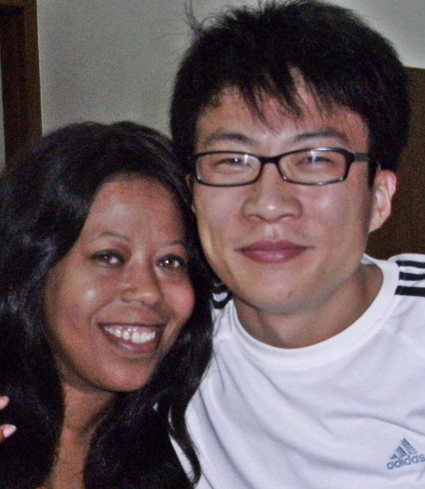 Jo Kelly-Bai and Michael